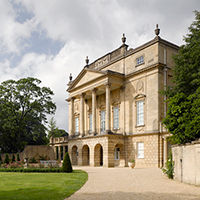 The Holburne Museum with front gardens, taken from the side